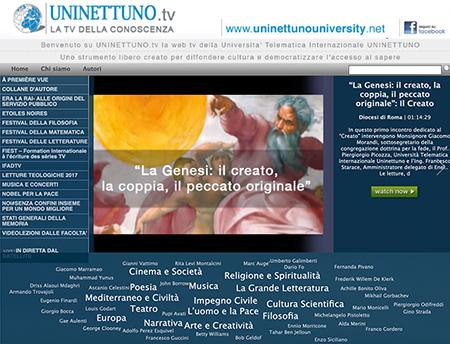 www.uninettuno.tv